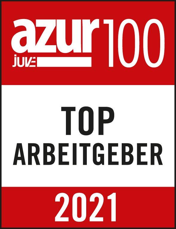 azur100 Top Arbeitgeber 2021